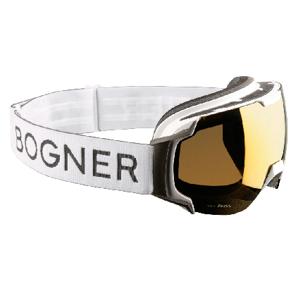 Горнолыжная маска Bogner Just B 2020 white ruthenium