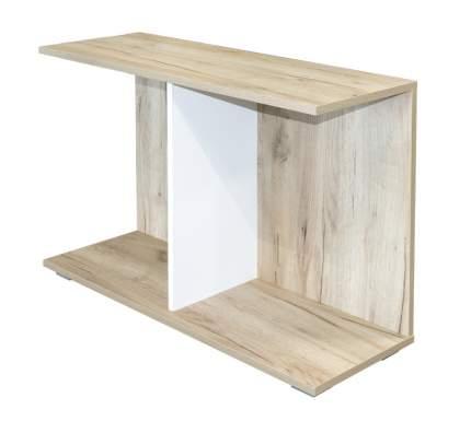 Журнальный столик Mobi Лайт 03.289 1356349 85х30х55 см, дуб серый крафт/белый премиум