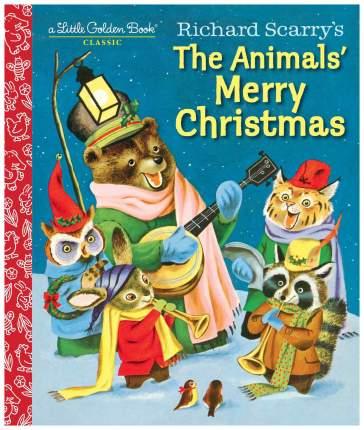Книга Random House Richard Scarry's The Animals' Merry Christmas