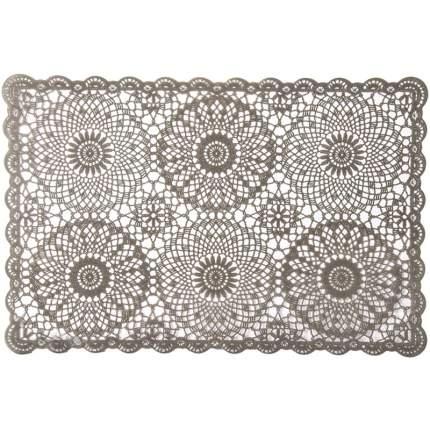Салфетка под посуду Peyer CASA, 30х45 см., цвет серый