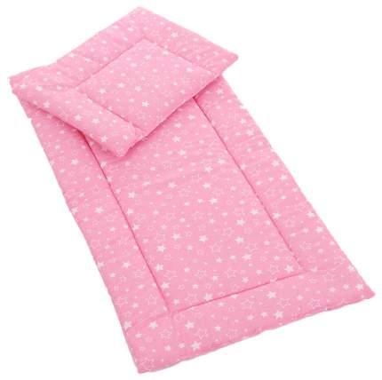 Комплект в коляску Bambola, для девочки (матрасик, подушка)