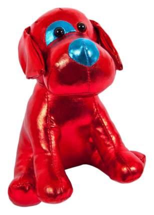 """Собака красная 15 см. Игрушка мягкая серии """"Металлик"""""""