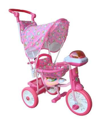 Детский трехколесный велосипед Jaguar розовый