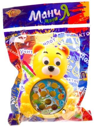 Набор игровой рыбалка Yako Toys с 2 удочками медведь серия МиниМаниЯ арт.M7620.
