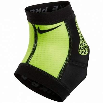 Бандаж на лодыжку Nike Pro combat ankle sleeve, L, синтетика