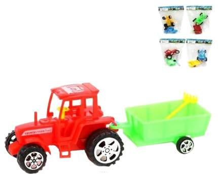 Инерционный трактор, 8 см Наша игрушка
