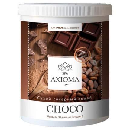 Сухой сахарный скраб Axioma «Choco» 1000 мл