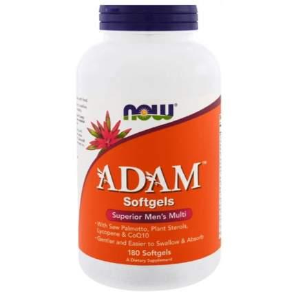 Витаминно-минеральный комплекс NOW Sports Adam Men's Multivitamin 180 капсул