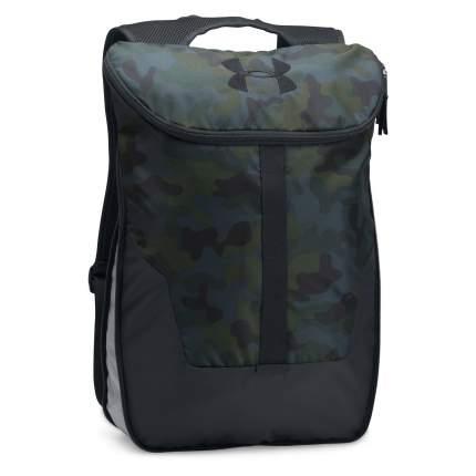 Рюкзак Under Armour Expandable Sackpack зеленый 27 л