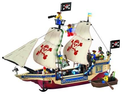 Конструктор Brick Пиратский корабль, 487 элементов