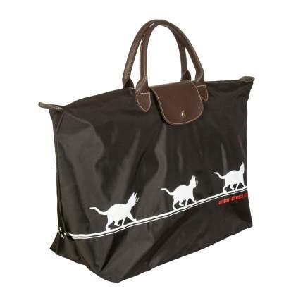 Дорожная сумка Antan Cat On The Sly 175 black 44 x 30 x 22 см