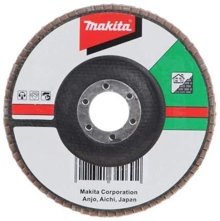 Круг лепестковый шлифовальный для шлифовальных машин Makita D-28145