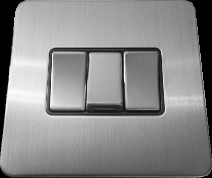 Металлический выключатель BalFour E3032BC