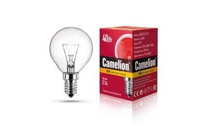 Лампа накаливания Camelion шар прозрачный 40W E-14