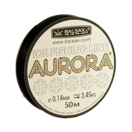 Леска монофильная Balsax Aurora 0,14 мм, 50 м, 2,45 кг