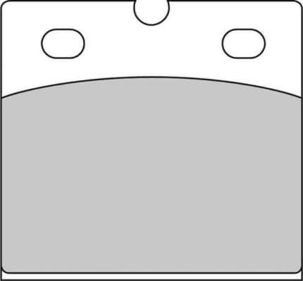 Тормозные колодки передние/задние Ferodo FDB108P для мотоциклов