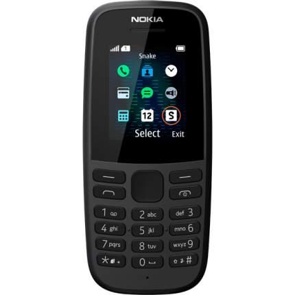 Мобильный телефон Nokia 105SS (ТА-1203) Nochgr Black