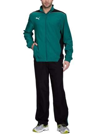 Спортивный костюм Puma Foundation Woven, team green/black, L INT