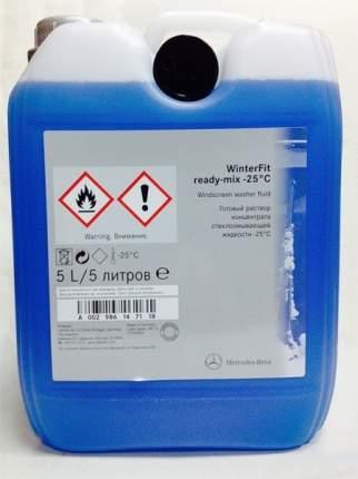 Жидкость омывателя незамерзающая -25C MERCEDES-BENZ Winter Fit 5 л A002 986 14 71 18