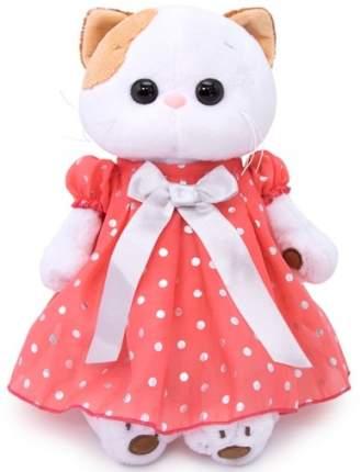 Мягкая игрушка BUDI BASA Кошка Ли-Ли в платье в горошек 24 см