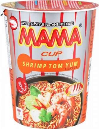 Лапша быстрого приготовления тайская Mama со вкусом супа том ям 70 г