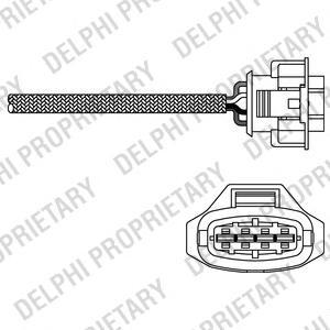 Лямбда-зонд Delphi ES2028312B1