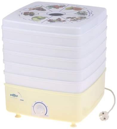 Сушилка для овощей и фруктов Ротор СШ 010-02 white/yellow