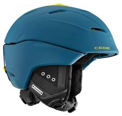 Горнолыжный шлем мужской Cebe Atmosphere Deluxe 2018, синий, M