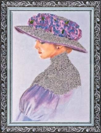 Вышивка бисером Абрис Арт AB-002 Виолет 40x28 см