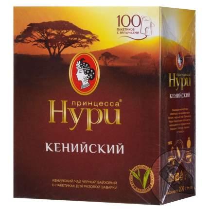 Чай черный Принцесса Нури кенийский байховый 100 пакетиков