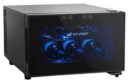 Винный шкаф Kitfort KT-2403 Black