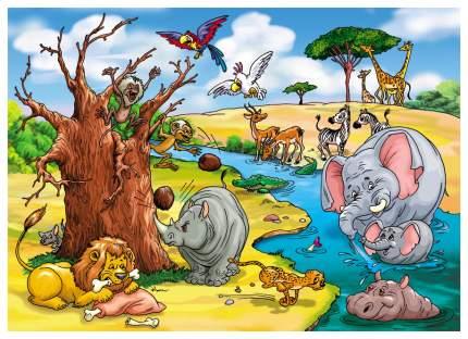 Пазл Десятое Королевство Макси-пазл В желтой, жаркой Африке 00210ДК