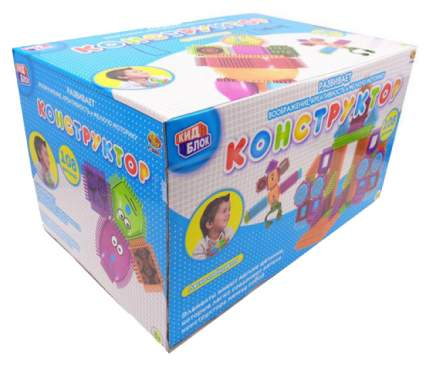 Конструктор пластиковый ABtoys Кид Блок со щетинками PT-00857