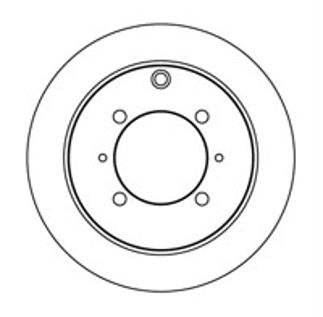 Тормозной диск Nk 203024