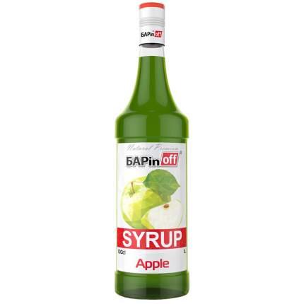 Сироп Barinoff зеленое яблоко 1 л