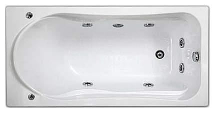 Акриловая ванна BAS Бриз 150х75 c гидромассажем