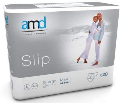 Подгузники для взрослых AMD Slip MAXI + XL 20 шт.