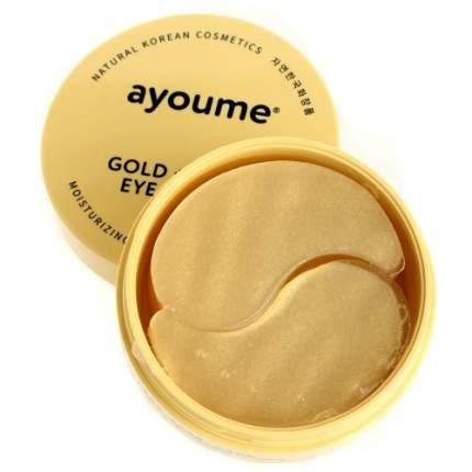 Патчи для глаз Ayoume GOLD+SNAIL EYE PATCH 1,4гр*60