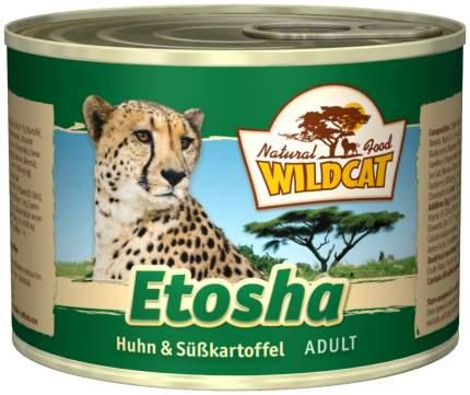 Консервы для кошек Wildcat, курица, 200г