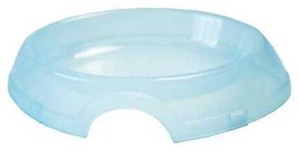 Одинарная миска для кошек ZooExpress, пластик, прозрачный, 0.2 л