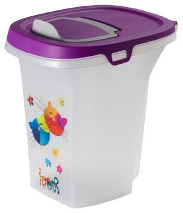 Емкость для хранения корма Moderna Trendy Story Друзья Навсегда 6 л фиолетовый 14AF500181