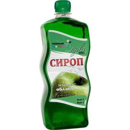Сироп Черное море зеленое яблоко light  1 л