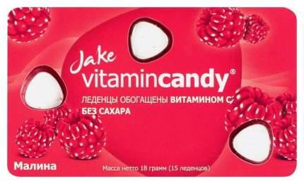Леденцы Jake Vitamin Candy малина с витамином C 18 г