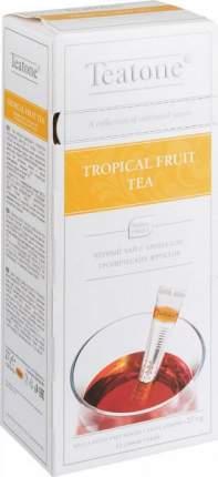 Чай черный Teatone с ароматом тропических фруктов 15 пакетиков