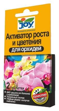 Активатор роста и цветения для орхидей JOY, 2 табл