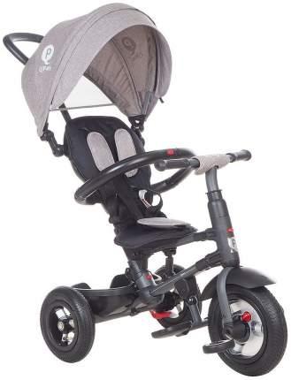 Велосипед детский трехколесный Modi QPlay с родительской ручкой Серый