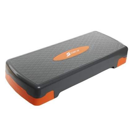 Степ-платформа Start Up NT33010 2 уровня серая/оранжевая
