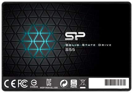 Внутренний SSD накопитель Silicon Power S55 480GB (SP480GBSS3S55S25)