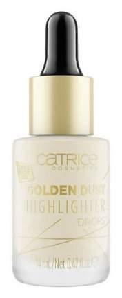 Хайлайтер Catrice Golden Dust Highlighter Drops 010 SPACEGOLD 14 мл