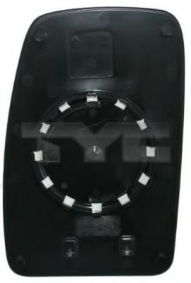 Стекло зеркала заднего вида PATRON PMG2831G03